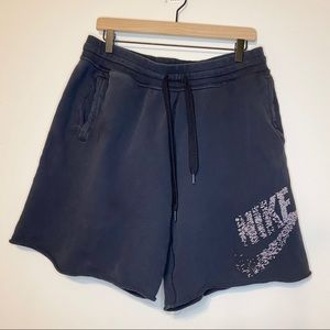 Nike athletic cotton shorts lounge wear XL